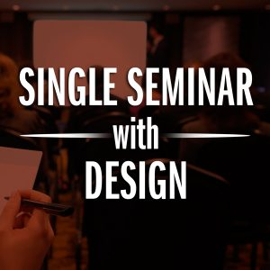 Single Seminar Custom Design