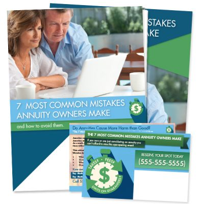 7 Mistakes Annuity Owners Make