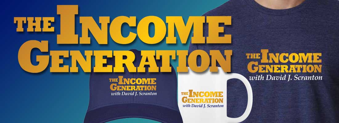 The Income Generation Banner